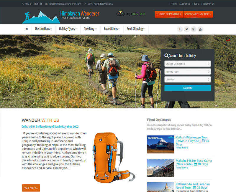 Himalayan Wanderer Treks & Expeditions Pvt. Ltd.