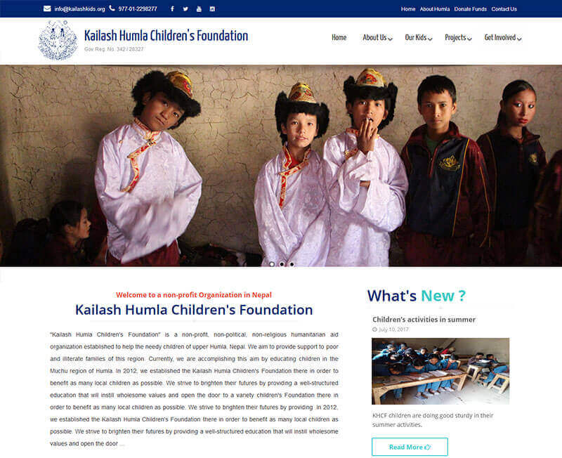 Kailash Humla Children's Foundation