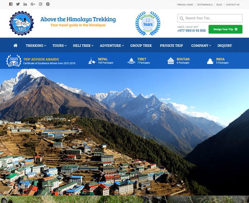Above The Himalaya